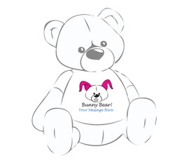 Personalized Easter Giant Teddy Bear Bunny Bear! shirt