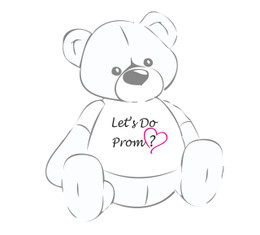 Prom 2016 – Let's Do Prom? Teddy Bear T-shirt