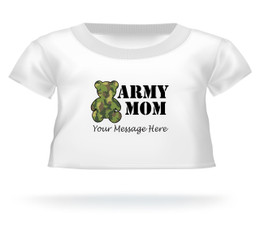 Mother's Day 2015 Army Mom Teddy Bear T-shirt