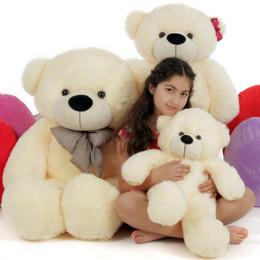 Giant Teddy 3 Bears Family Cream Cozy Cuddles 4ft Papa, 3ft Mama, 2ft Baby