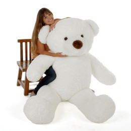 Sprinkle Chubs Life Size Cute Soft White Giant Teddy Bear 72in