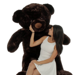 Munchkin Chubs Life Size Adorable Chocolate Brown Teddy Bear 72in