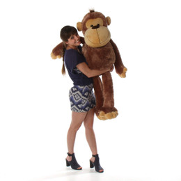 4ft Life Size Stuffed Monkey Sweet Sally Sue from Giant Teddy brand