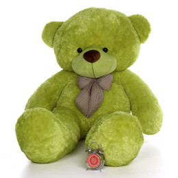 6ft Life Size Giant Teddy Bear Lime Green Ace Cuddles