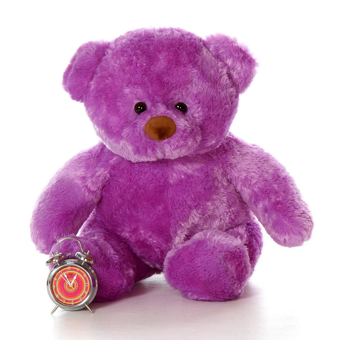 38in Purple Chubs By Giant Teddy