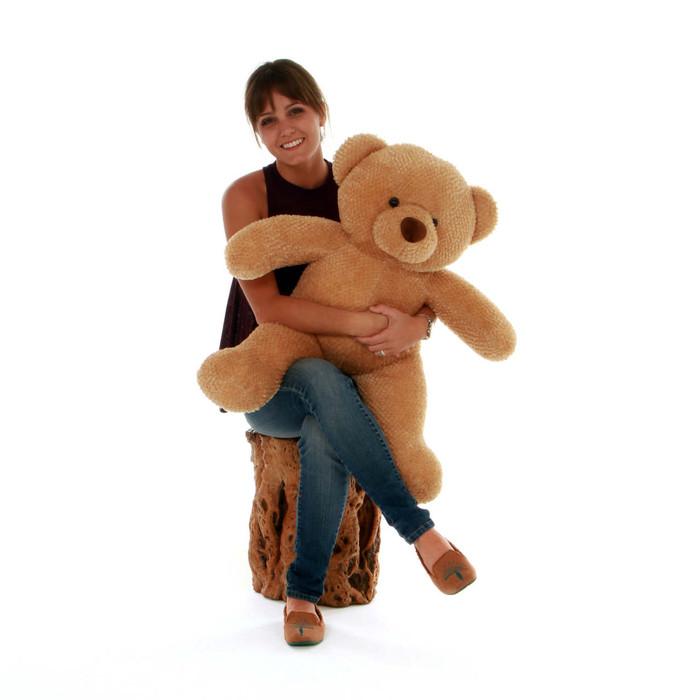 30in Cutie Chubs Plush Amber Collectible Teddy Bear