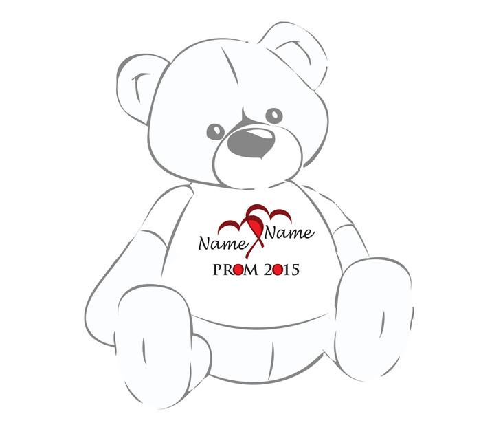 Prom 2015 Personalized Teddy Bear Shirt