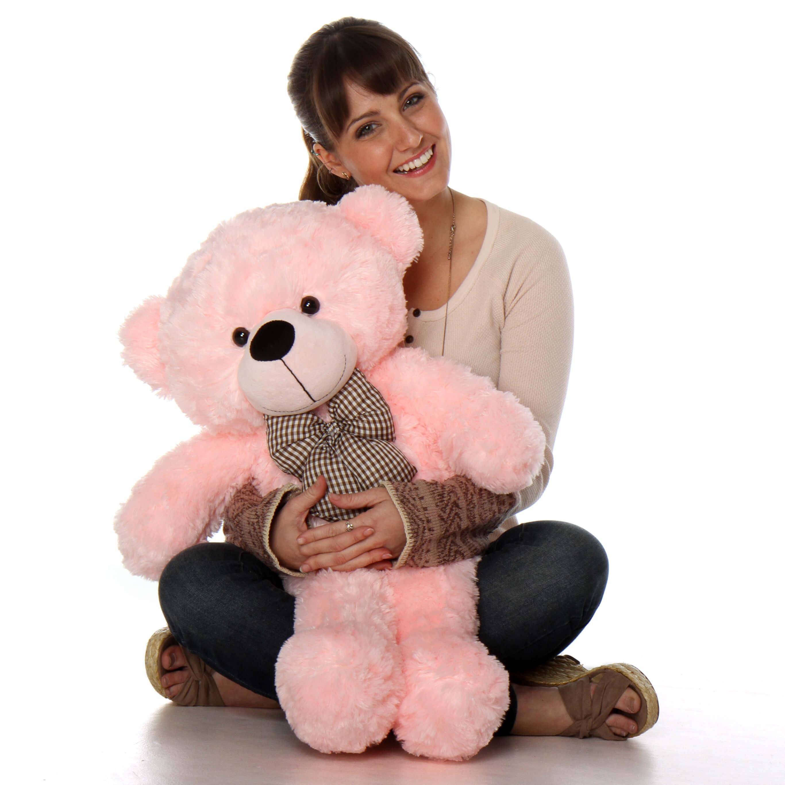 30in-lady-cuddles-huggable-soft-huggable-pink-giant-teddy-plush-bear1.jpg