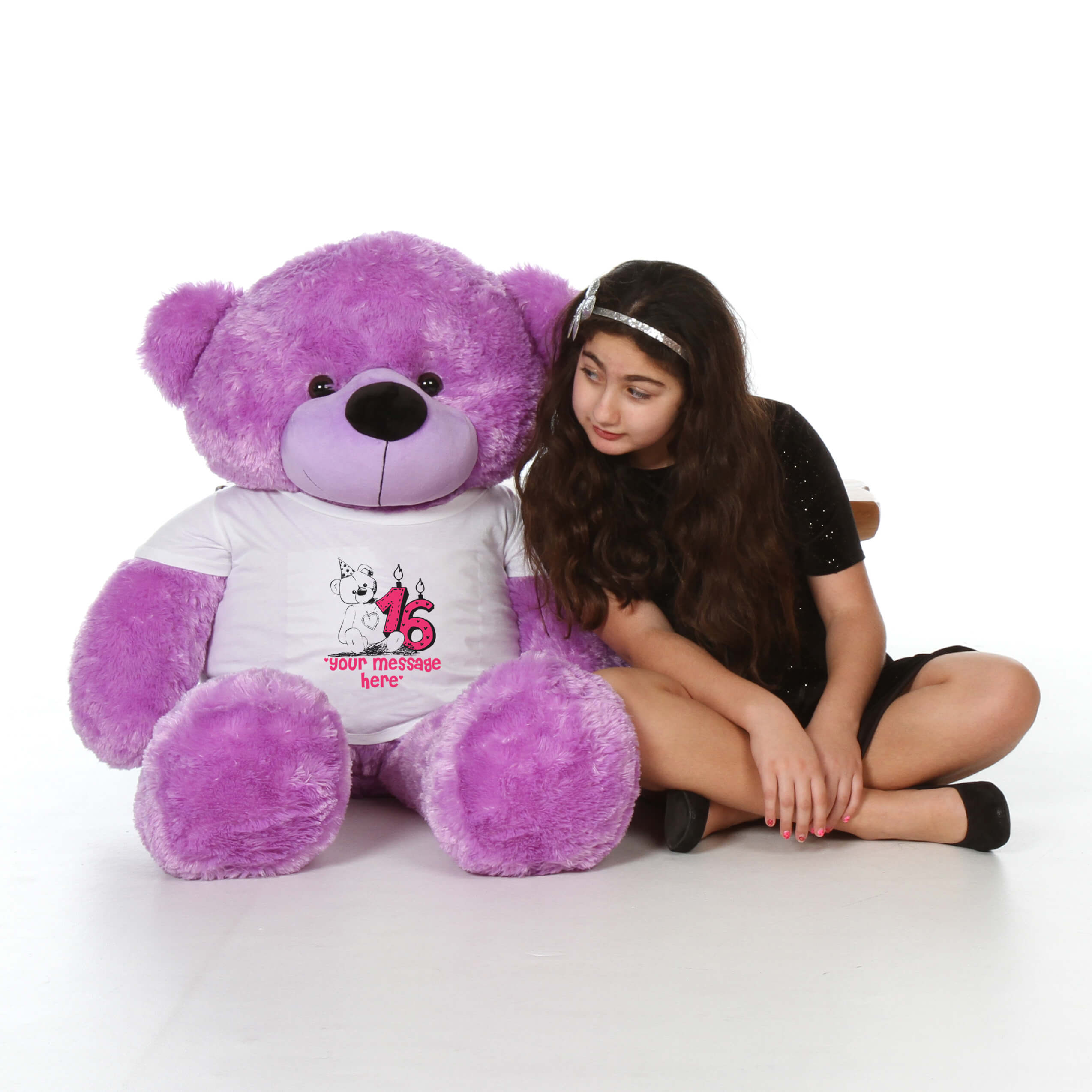 4ft-giant-teddy-bear-purple-deedee-cuddles-in-a-happy-birthday-your-message-here-t-shirt.jpg