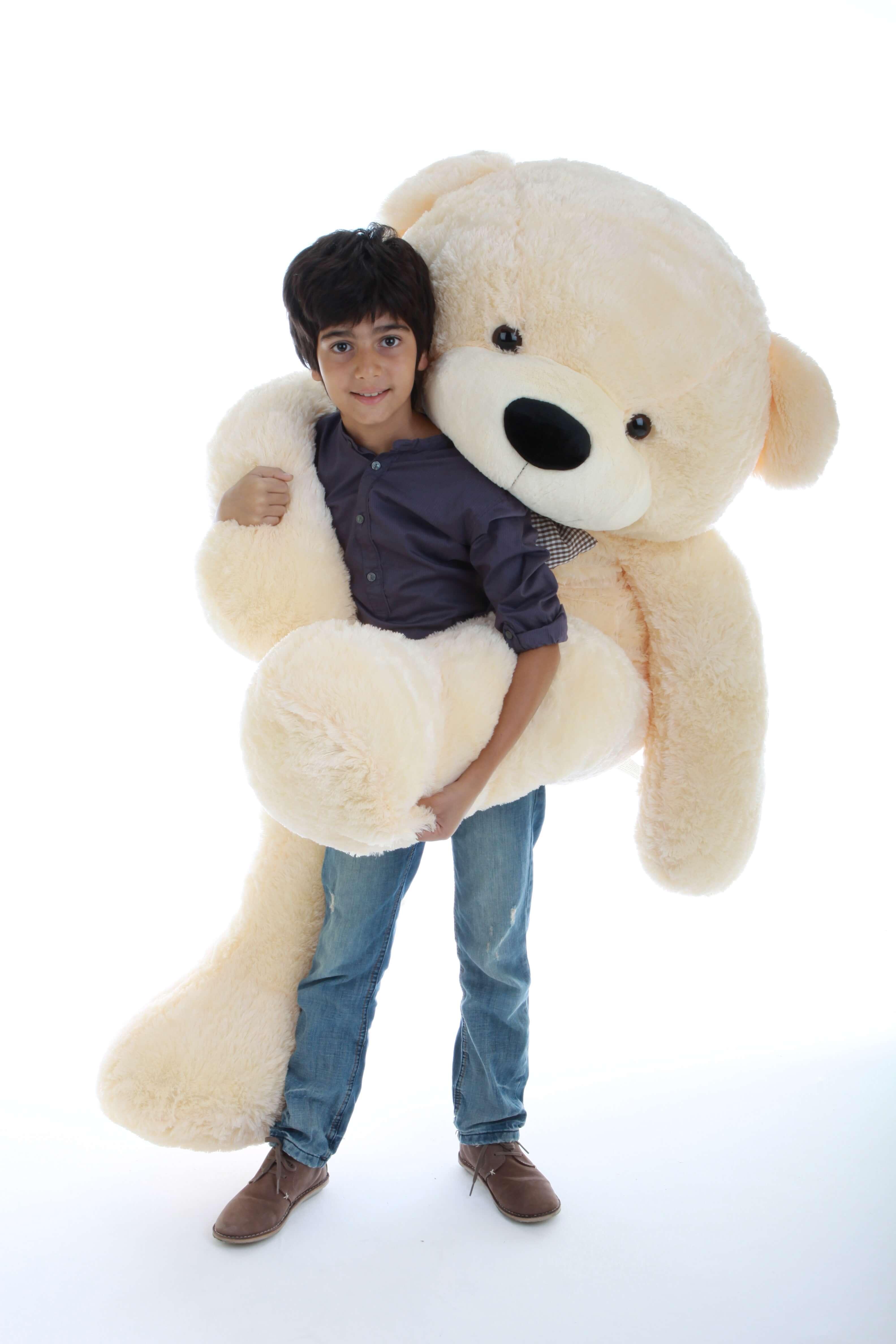5ft-cutest-life-size-huge-teddy-bear-cozy-cuddles-cream-fur-1.jpg