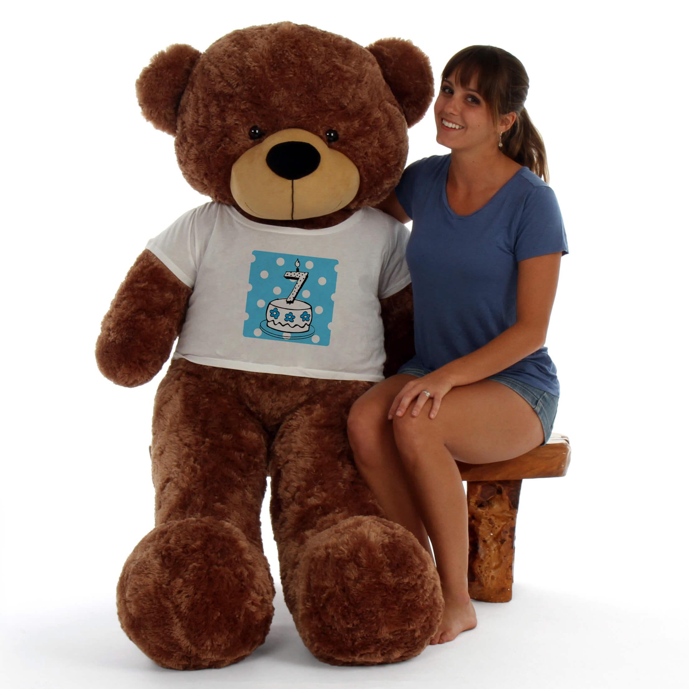 60in-giant-teddy-bear-mocha-brown-sunny-cuddles-in-a-blue-birthday-cake-t-shirt.jpg