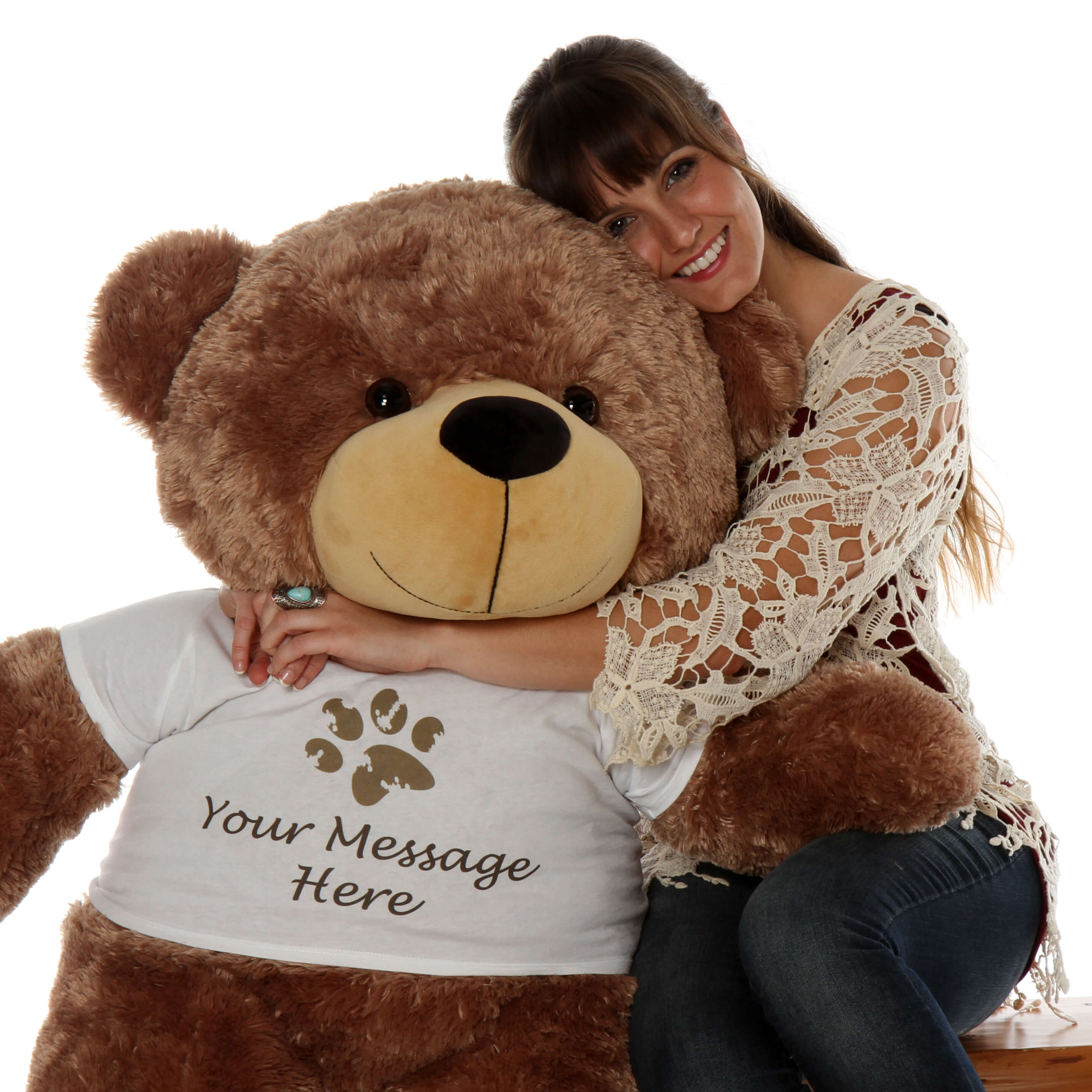 sunny-cuddles-is-a-personalized-teddy-bear-with-a-paw-stamp-t-shirt-that-you-can-customize.-this-cute-mocha-brown-teddy-bear-1.jpg