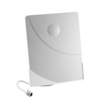 Wilson 304452 4G/3G Indoor Window-Mount Directional Panel Antenna with N-Female Connector (50 Ohm): Front