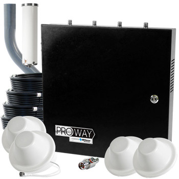 WilsonPro 70 PLUS Office PRO MAX System with 4 Antennas 463127 (50 Ohm): Kit
