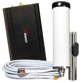 Top Signal HiBoost Marine 4G LTE Cell Signal Booster TS541611: Booster and Marine Antenna