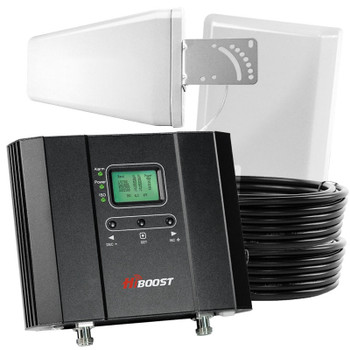 HiBoost Home 15K LCD Cell Signal Booster (50 Ohm) F20G-5S Refurbished: Kit