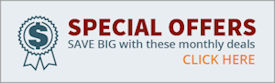 Special offers: Click here and save big with these monthly deals.