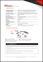 Download the HiBoost Home 4K spec sheet (PDF)