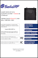 Download the SolidRF SOHO Tri-Band AT&T/T-Mobile SR13652001 470101 user manual (PDF)