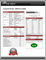 Download the Top Signal RF 240 cable spec sheet (PDF)
