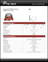 Download the Top Signal TS210461 spec sheet (PDF)