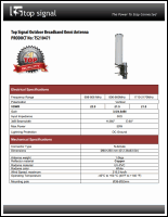 Download the Top Signal TS210471 spec sheet (PDF)