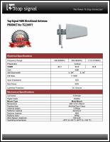 Download the Top Signal TS220971 spec sheet (PDF)