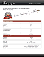 Download the Top Signal TS231472 spec sheet (PDF)