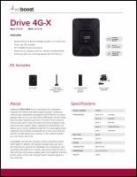 Download the weBoost Drive 4G-X 470510 spec sheet (PDF)