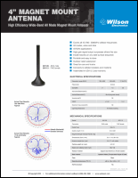 Download the Wilson 301113 spec sheet (PDF)