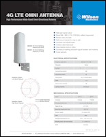 Download the Wilson Electronics 304421/304424 antenna spec sheet (PDF)