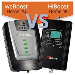weBoost Home 4G (470101) vs. HiBoost Home 4K (F10G-5S-LCD)
