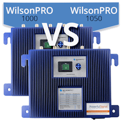 What are the differences between the WilsonPro 1000 and WilsonPro 1050?