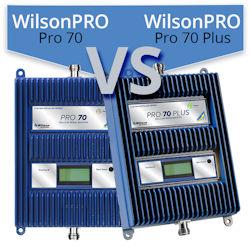 WilsonPro 70 (465134) vs. WilsonPro 70 Plus (463127/463227)