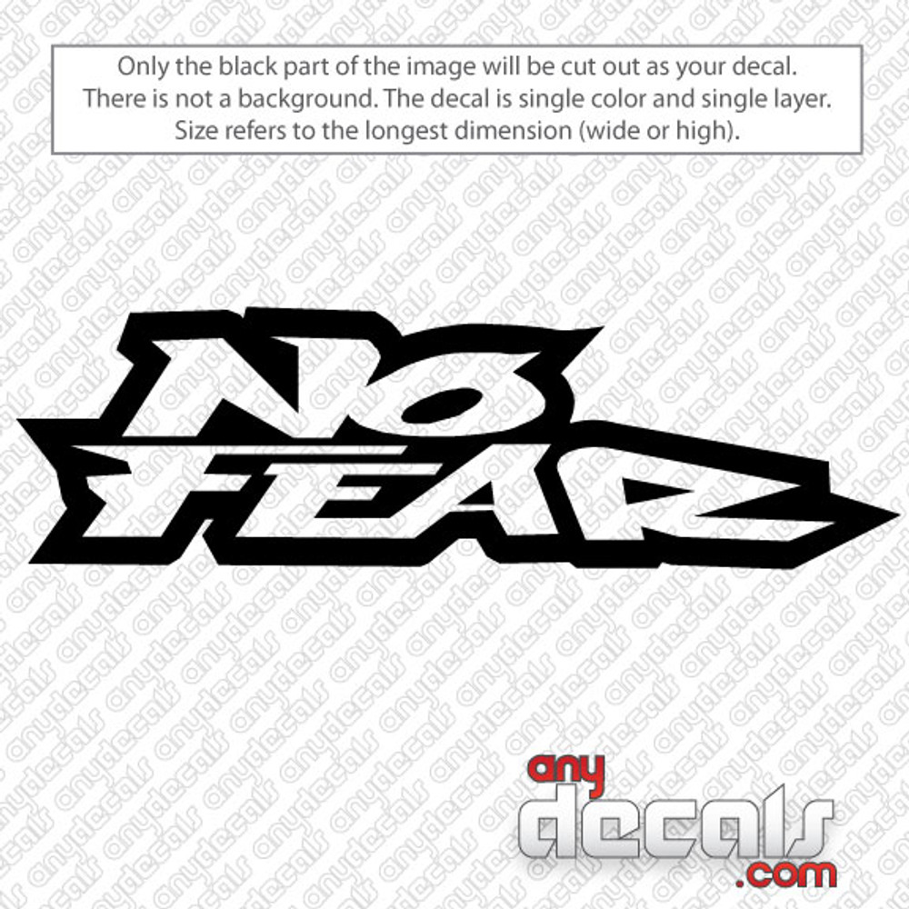 Motocross decals no fear decal car decals car stickers decals for cars