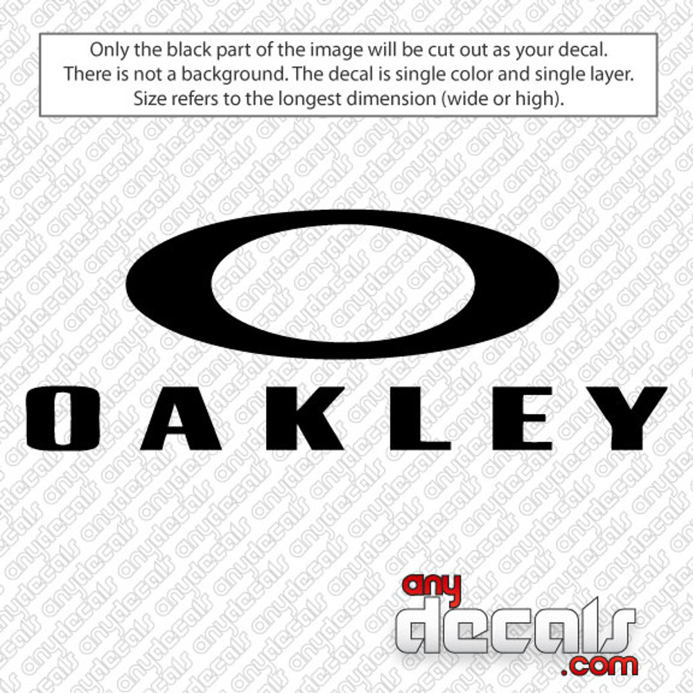 oakley decals