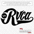surf decals, skate decals, surf stickers, skate stickers, RVCA car decals, VA car decals, car stickers, decals for cars, stickers for cars