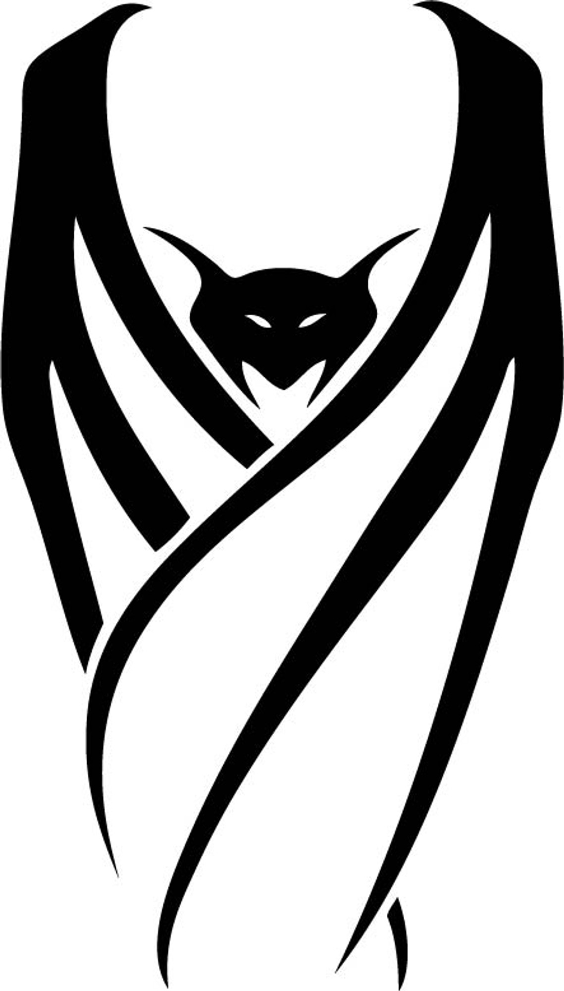 Animal Car Decals Car Stickers Bat Car Decal 02