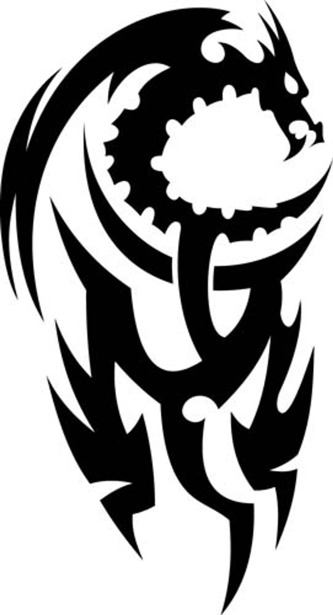 Animal Car Decals Car Stickers Dragon Car Decal 04