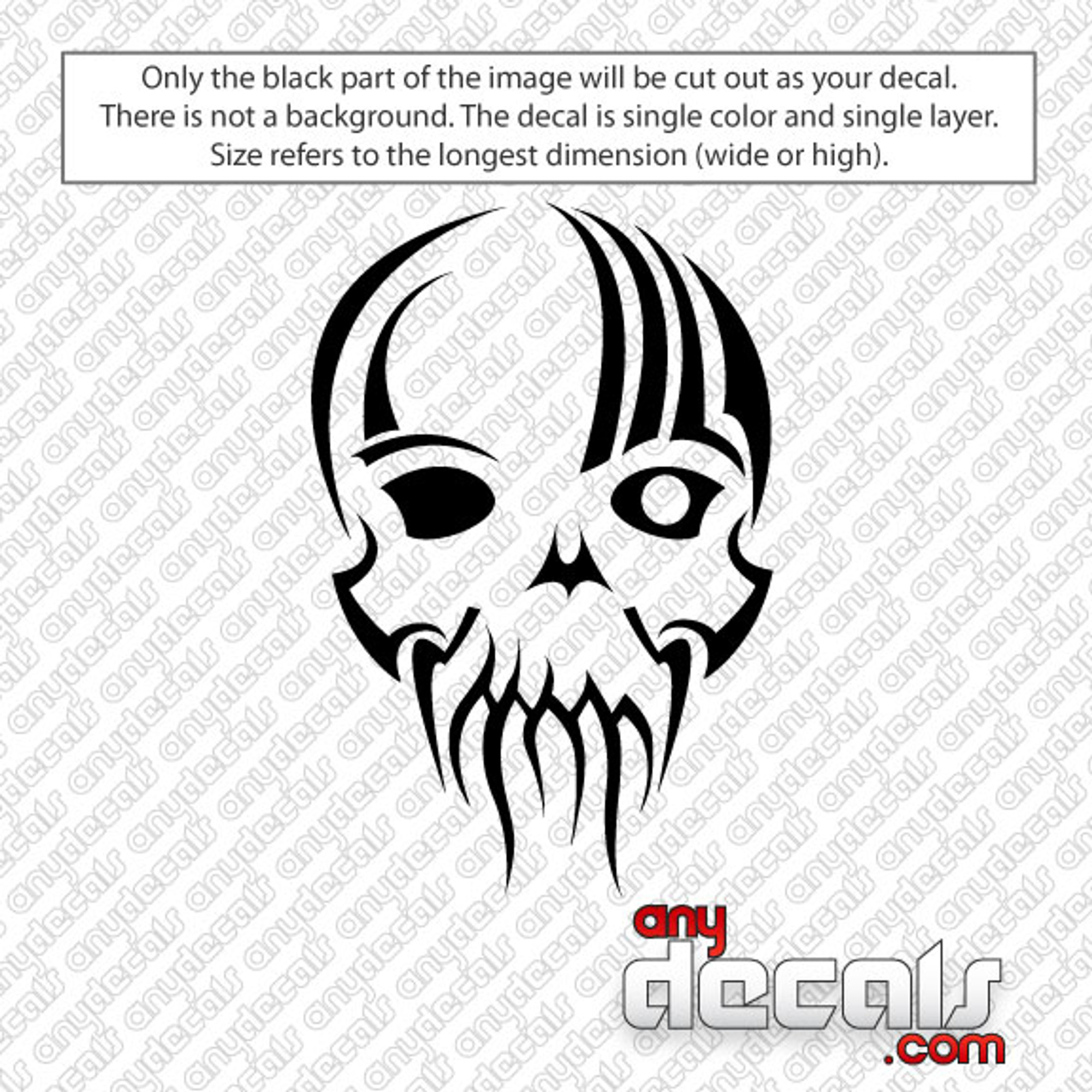 Car Decals Car Stickers One Eye Skull Car Decal
