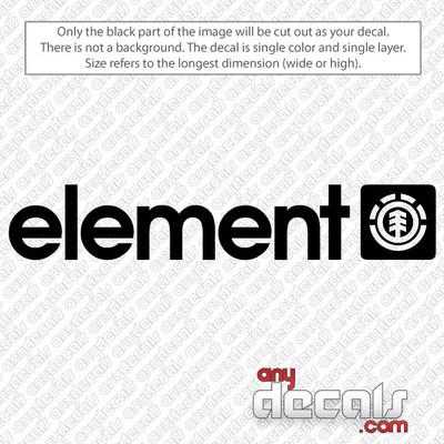 Element car decal