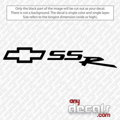 car decals, truck decals, chevy decals, bowtie decals