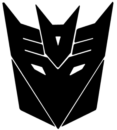 Decepticon Car Decal