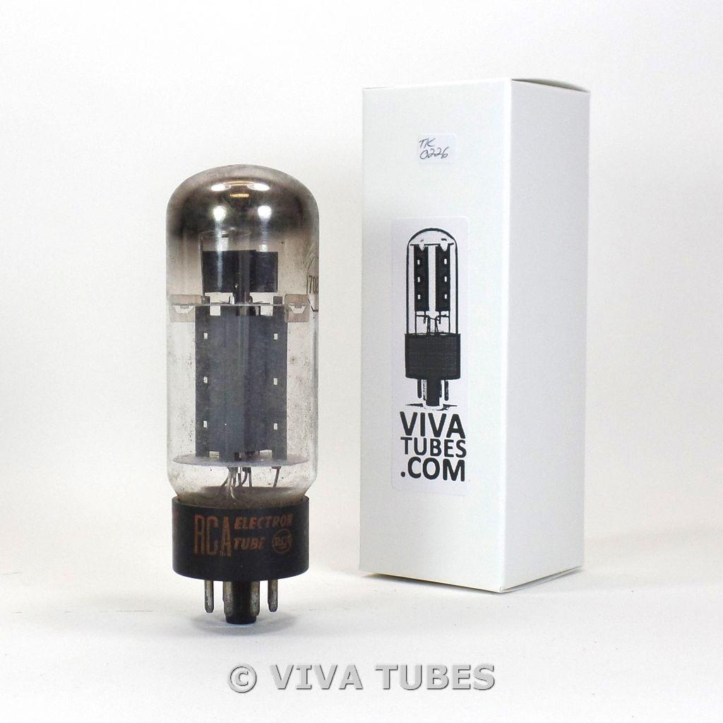 NOS RCA USA 7027A Gray Plate O Get Vacuum Tube 100+%