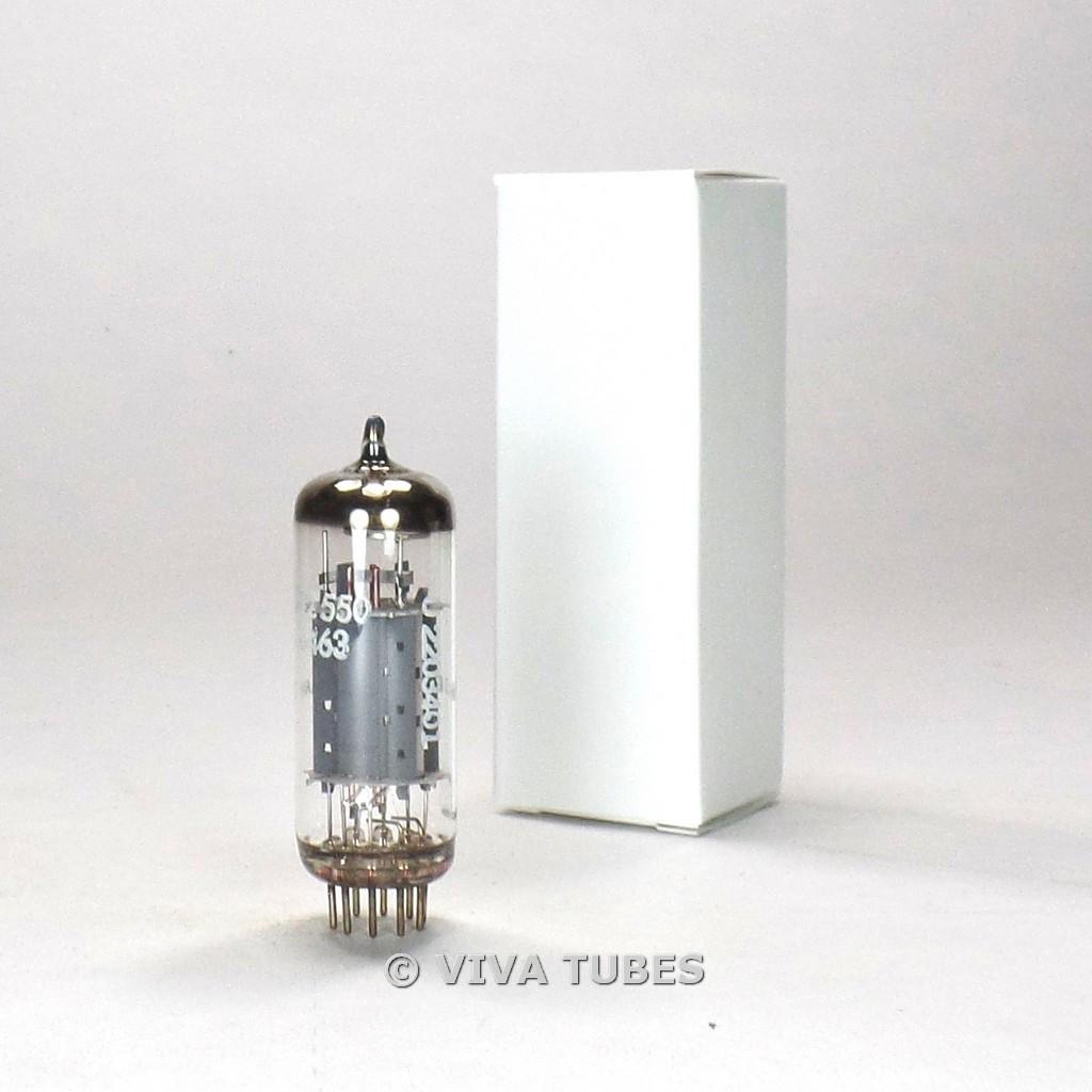 RARE True NOS Telefunken <> Bottom 6463 Wing Plate Holy Grail Vacuum Tube