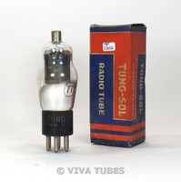 True NOS NIB Tung-Sol USA Type CTL-77 Grey Plate Cracked Base Vacuum Tube