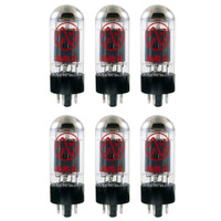 New In Box Plate Current Matched Sextet (6) JJ 6V6 / 6V6S Vacuum Tubes 6V6GT
