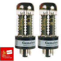 Brand New In Box Matched Pair (2) Genalex GZ34 5AR4 U77 Rectifier Vacuum Tubes