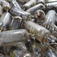 Lot of Type 6AU6/EF94 - 158 Untested, Vintage, Loose Vacuum Tubes