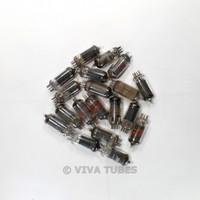 Lot of Type 12AU6 - 19 Untested, Vintage, Loose Vacuum Tubes